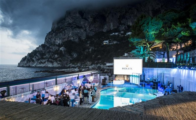 Rolex Party and official Prizegiving at La Canzone del Mare. Photo by Rolex Kurt Arrigo
