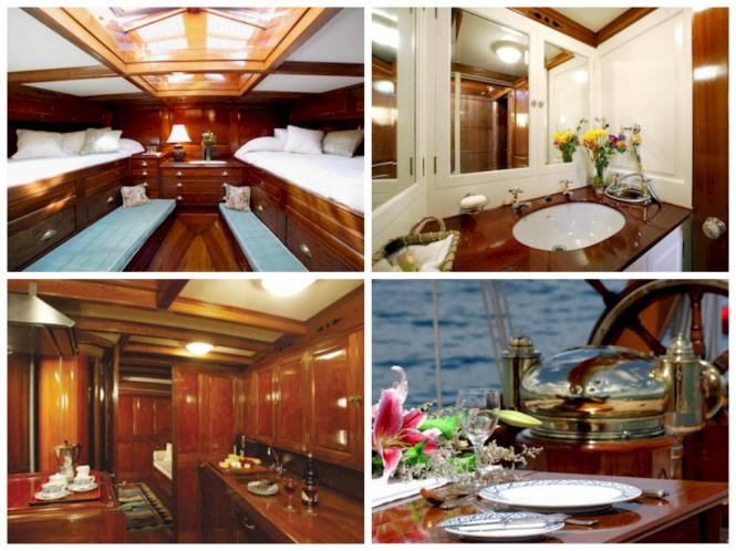 Sailing Yacht MOONBEAM  - Interiors