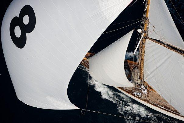 Sailing Yacht Moonbeam - under sail