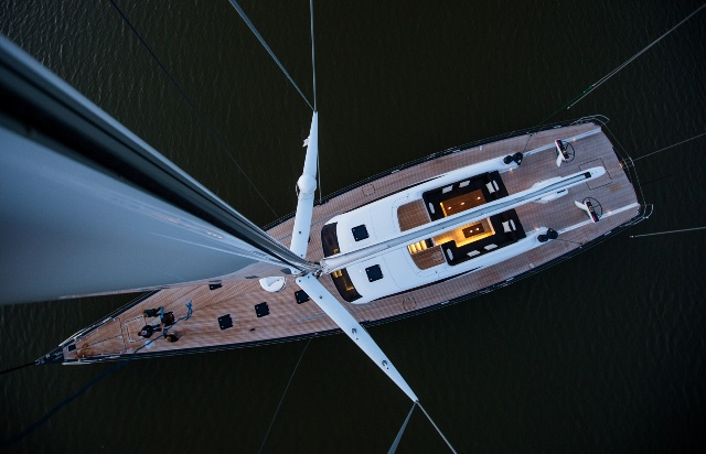 Sailing Yacht of the Year - Inukshuk - Image Credit Jeff Brown Superyacht Media