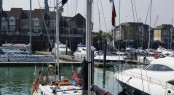 Sailing yacht John Laing at MDL's Ocean Village