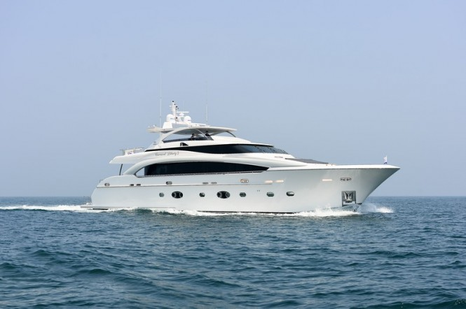 Second RP110 superyacht Carnival Liberty 3 recently launched by Horizon