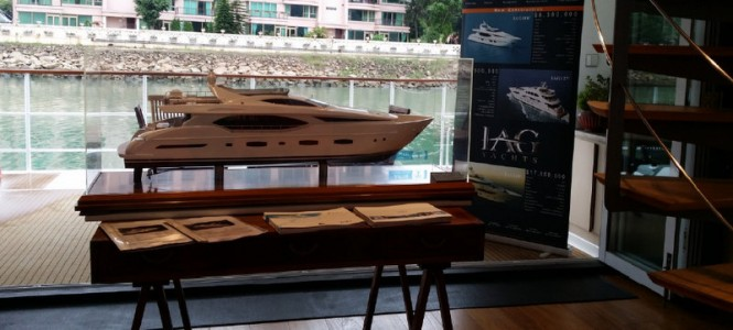Successful Singapore Yacht Show and Hong Kong Gold Coast Boat Show for IAG Yachts