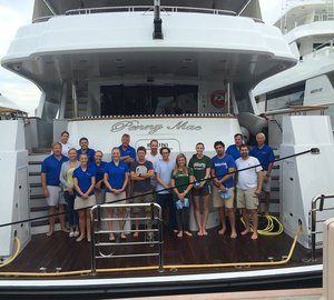Successful tiger shark tagging expedition for International SeaKeepers Society aboard PENNY MAE Yacht
