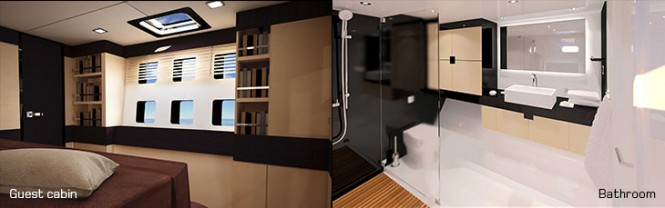 Sunreef 60 LOFT sailing yacht MERI II - Interior