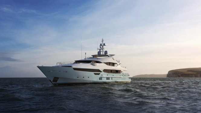 Sunseeker 155 Yacht BLUSH recently handed over by Sunseeker