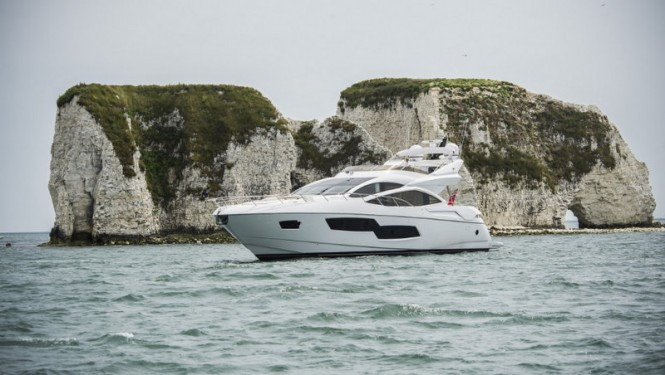 Sunseeker 80 Sport Yacht to be displayed at the 2014 British Motor Yacht Show