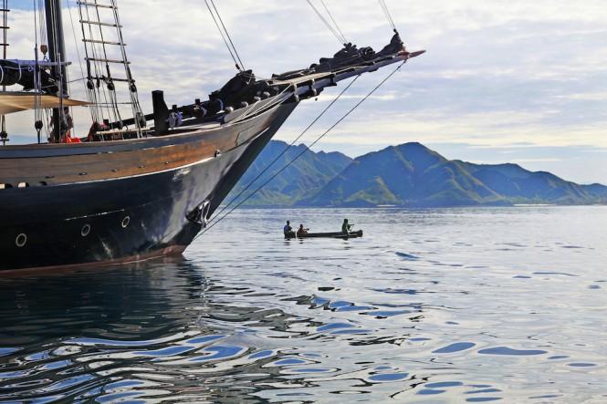 Superyacht Dunia Baru in South East Asia