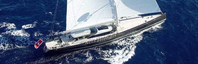 Superyacht Ganesha, Vitters' 46m sleek-lined performance sloop joins the 2014 Regatta