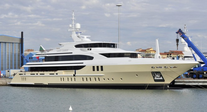 Superyacht Lady Candy by Benetti
