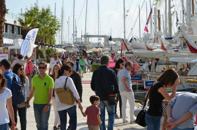Superyacht Quay at Palma International Boat Show 2014