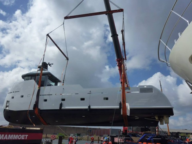 Superyacht support vessel YXT One ready to hit the water