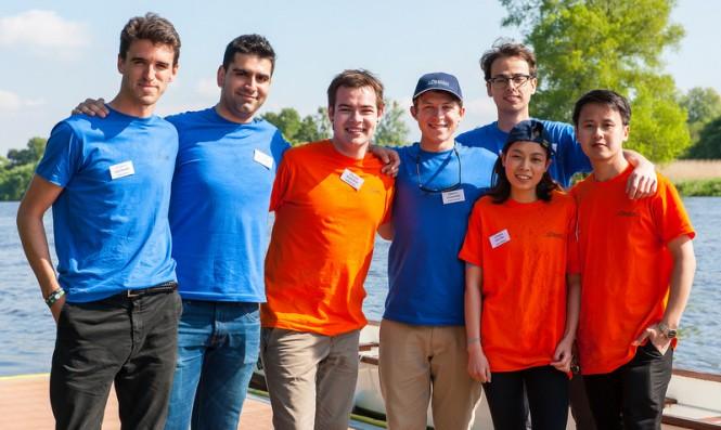 The Young Designer Award 2014 Finalists at Lurssen Rowing Regatta - Photo by Klaus Jordan