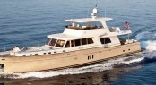 Vicem 97 Cruiser Yacht underway