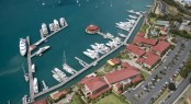 Yacht Haven Grande Marina in  St Thomas -  USVI - Photo courtesy of  The Virgin Islands Economic Development Authority