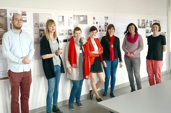 students from Academy of Fine Arts in Gdansk, Poland