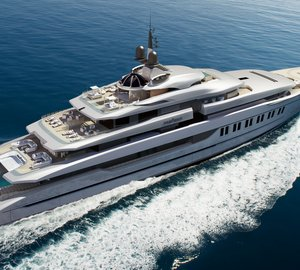 New 110m DP028 motor yacht PRIMADONNA concept by Oceanco and Hot Lab