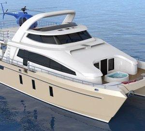 Pachoud Motoryachts working on new 24m Jutson Exploration HeliCat Yacht
