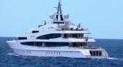 62m Oceanco mega yacht LADY CHRISTINA - Photo Credit to Monaco Yacht Spotter.