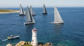 After postponement, the fleet battle it out in the final day of racing at the Loro Piana Superyacht Regatta Jeff Brown | Superyacht Media