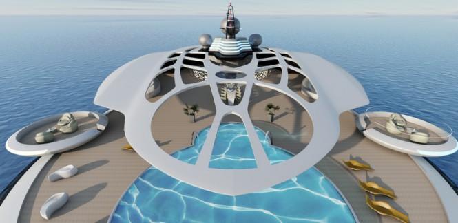 Assina superyacht concept - Exterior