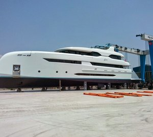 Images of newly launched Bilgin 147 motor yacht ELADA