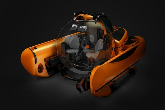C-Explorer 3 Submersible by U-Boat Worx