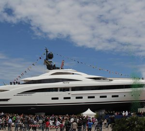 CRN announces launch of 73m motor yacht YALLA (CRN 132)