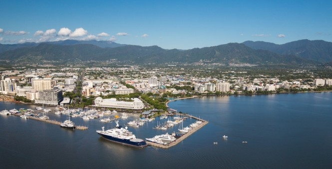 Cairns - Photo Credit to Superyacht Australia