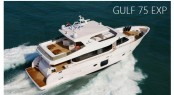 Gulf 75 Exp Yacht virtual tour opening screen