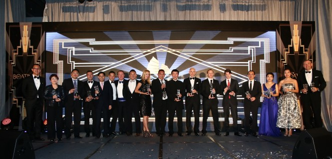 Gulf Craft at the Asia Boating Awards 2014 – Winner Group Photo