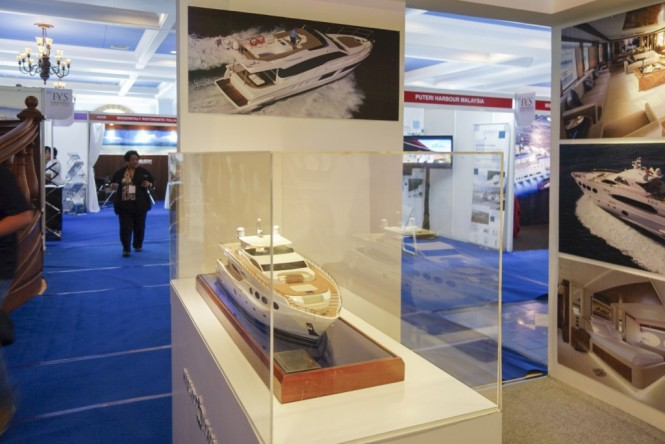 Gulf Craft at the Indonesia Yacht Show 2014