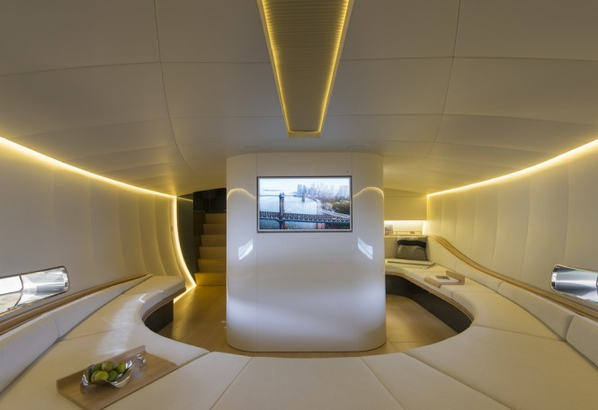 Iguazu Yacht by Alen Yacht - Interior space