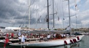 J-Class superyachts ready to compete in the Superyacht Cup Palma 2014