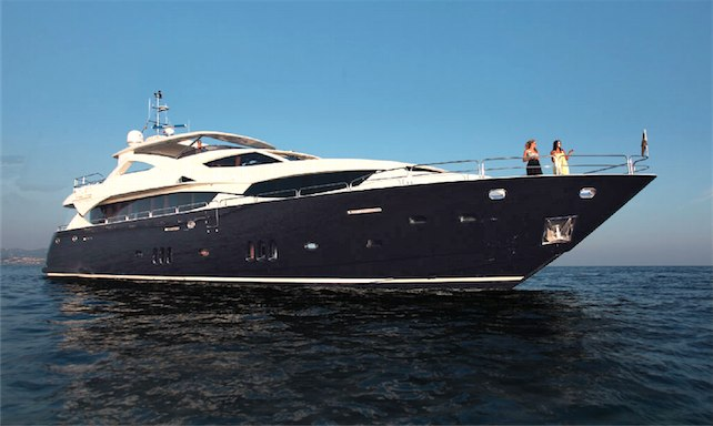 Luxury charter yacht CASSIOPEIA built by Sunseeker