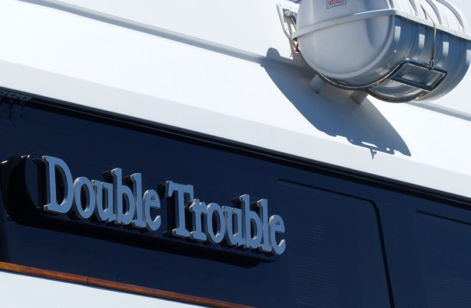 Motor Yacht Double Trouble Back Home Following Full Hull