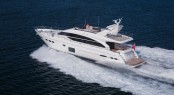 Luxury motor yacht Princess 82 - the largest vessel to be displayed at the 2014 HISWA Amsterdam in-water Boat Show