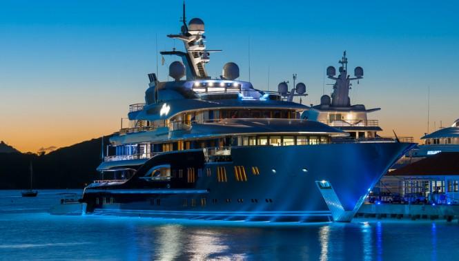 Luxury motor yacht Solandge - Photo by Klaus Jordan