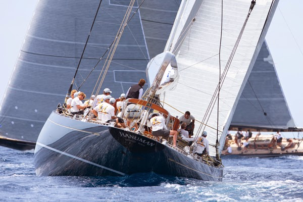 Luxury sailing yacht Hanuman