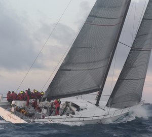 Sailing yacht Shockwave takes Line Honours in the 49th Newport Bermuda Race