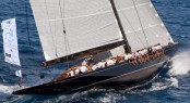 Luxury superyacht Lionheart under sail - Photo by clairematches.com