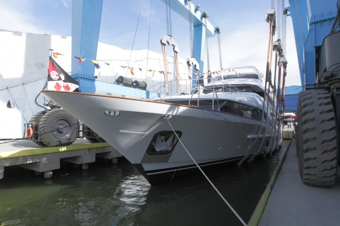Luxury yacht DYNA (hull BC129) - a sister ship to EDESIA Yacht (hull BC131)