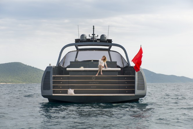 Luxury yacht IGUAZU - Alen 68 Yacht