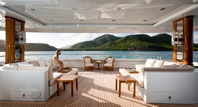 Luxury yacht INVICTUS - Exterior - Photo by Jeff Brown