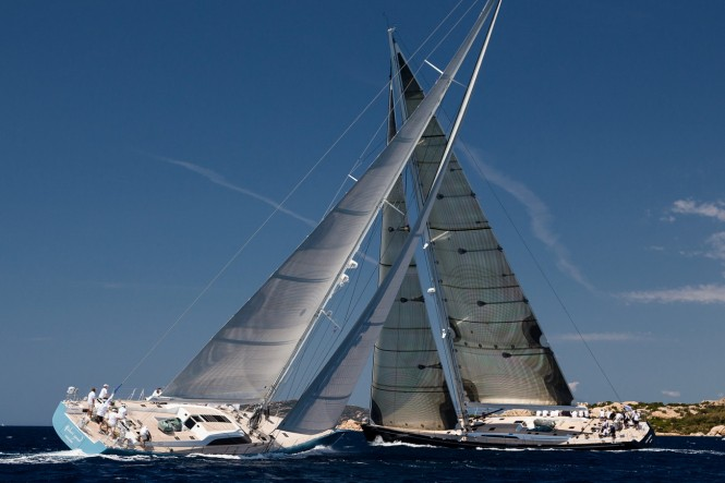 XII SWS Maxi Yacht Trophy at Loro Piana Superyacht Regatta© Carlo Baroncini Photography