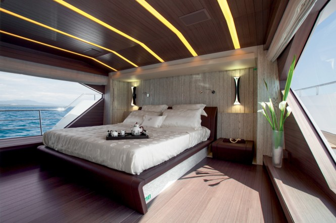 MY PARADIS yacht - accommodation