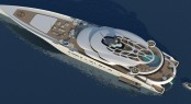 New 135m superyacht Assina concept by Roland Friedberger of RF Yachts