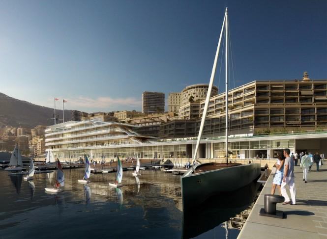 New Yacht Club de Monaco Building