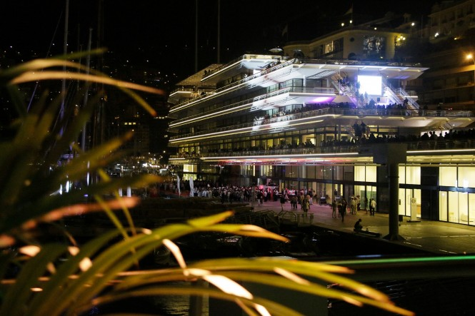 New Yacht Club de Monaco Premises by night @FranckTerlin