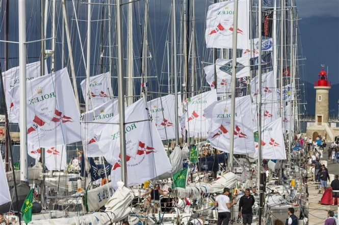 Over 240 yachts have entered the 62nd Giraglia Rolex Cup - Photo by Rolex Carlo Borlenghi